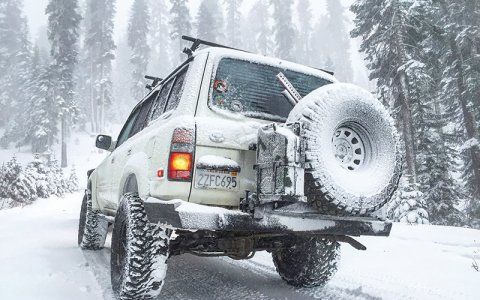 OFF ROAD ADVENTURES RUSSIAN TIME MAIN TOYOTA LAND CRUISER