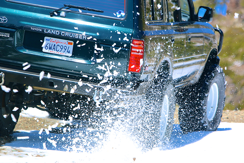 OFF ROAD ADVENTURES RUSSIAN TIME LAND CRUISER SNOW