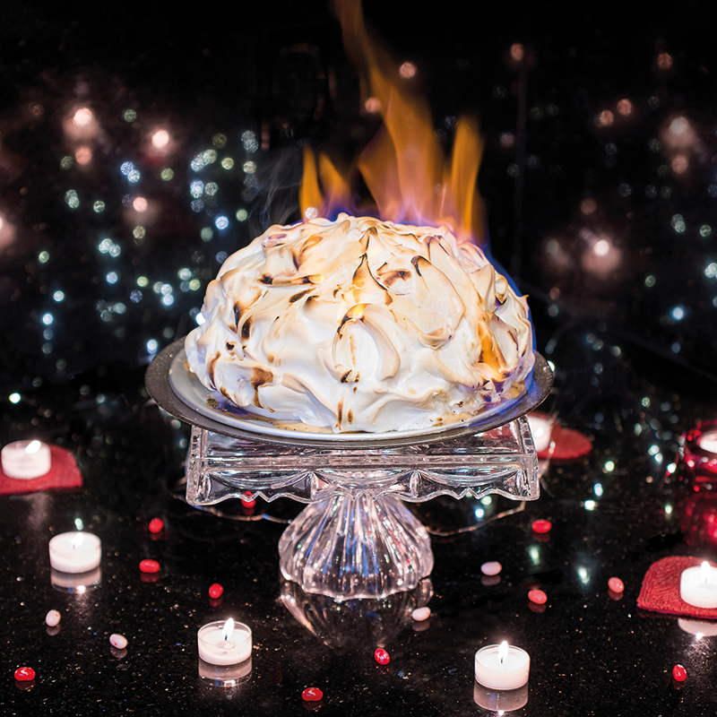 Valentines Day Desserts - Flambe - Russian Time Magazine